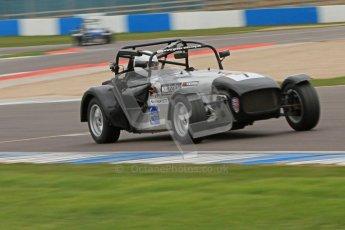 © Octane Photographic Ltd. Motors TV day – Donington Park,  Saturday 31st March 2012. Caterham Graduates - Mega and Classic classes. Digital ref : 0267cb7d6209