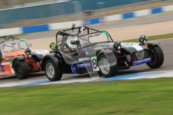 © Octane Photographic Ltd. Motors TV day – Donington Park,  Saturday 31st March 2012. Caterham Graduates - Mega and Classic classes. Digital ref : 0267cb7d6218