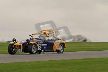 © Octane Photographic Ltd. Motors TV day – Donington Park, Saturday 31st March 2012. Caterham Graduates - Mega and Classic classes. Digital ref : 0267lw7d8231
