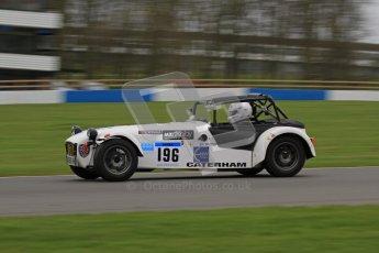 © Octane Photographic Ltd. Motors TV day – Donington Park,  Saturday 31st March 2012. Caterham Graduates - Mega and Classic classes. Digital ref : 0267lw7d8238