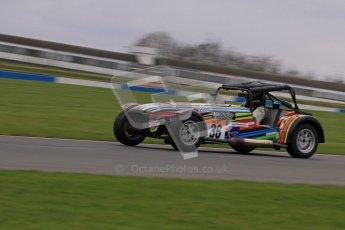 © Octane Photographic Ltd. Motors TV day – Donington Park,  Saturday 31st March 2012. Caterham Graduates - Mega and Classic classes. Digital ref : 0267lw7d8249