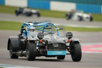 © Octane Photographic Ltd. Motors TV day – Donington Park, Saturday 31st March 2012. Caterham Graduates – Super and Sigma classes. Digital ref : 0269cb1d0286
