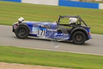 © Octane Photographic Ltd. Motors TV day – Donington Park,  Saturday 31st March 2012. Caterham Graduates – Super and Sigma classes. Digital ref : 0269lw7d8797