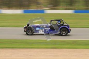 © Octane Photographic Ltd. Motors TV day – Donington Park, Saturday 31st March 2012. Caterham Graduates – Super and Sigma classes. Digital ref : 0269lw7d8864