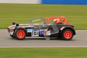 © Octane Photographic Ltd. Motors TV day – Donington Park, Saturday 31st March 2012. Caterham Graduates – Super and Sigma classes. Digital ref : 0269lw7d8920