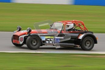 © Octane Photographic Ltd. Motors TV day – Donington Park, Saturday 31st March 2012. Caterham Graduates – Super and Sigma classes. Digital ref : 0269lw7d8973