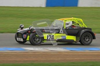 © Octane Photographic Ltd. Motors TV day – Donington Park,  Saturday 31st March 2012. Caterham Graduates – Super and Sigma classes. Digital ref : 0269lw7d9203