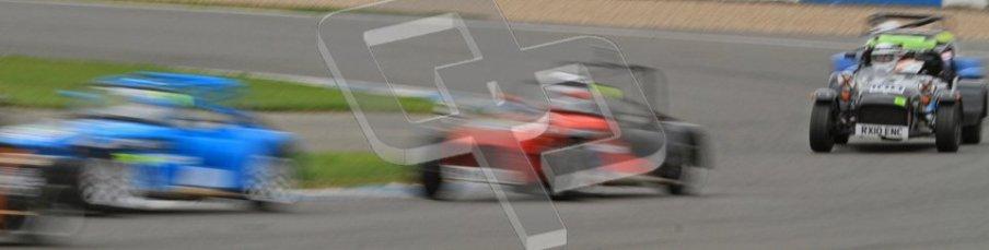 © Octane Photographic Ltd. Motors TV day – Donington Park,  Saturday 31st March 2012. Caterham Graduates – Super and Sigma classes. Digital ref : 0269lw7d9292