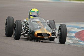 © Octane Photographic Ltd. Motors TV day – Donington Park,  Saturday 31st March 2012. Formula Junior 2nd session, John Truslove - Brabham BT6. Digital ref : 0268cb1d0017