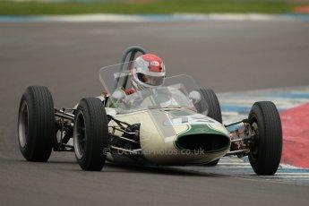 © Octane Photographic Ltd. Motors TV day – Donington Park,  Saturday 31st March 2012. Formula Junior 2nd session, Pete Morton - Lightning Envoyette. Digital ref : 0268cb1d0019