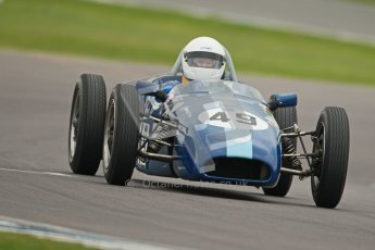 © Octane Photographic Ltd. Motors TV day – Donington Park,  Saturday 31st March 2012. Formula Junior 2nd session, Phoebe Rolt - Elva 200. Digital ref : 0268cb1d0083