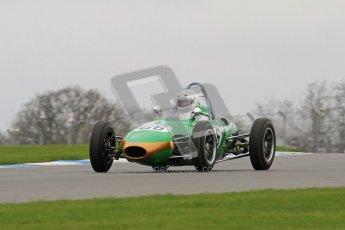 © Octane Photographic Ltd. Motors TV day – Donington Park,  Saturday 31st March 2012. Formula Junior 2nd session, Alex Morton - Ausper T3. Digital ref : 0268lw7d8388