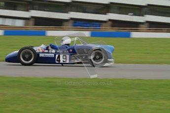 © Octane Photographic Ltd. Motors TV day – Donington Park,  Saturday 31st March 2012. Formula Junior 2nd session, Phoebe Rolt - Elva 200. Digital ref : 0268lw7d8456