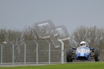 © Octane Photographic Ltd. Motors TV day – Donington Park,  Saturday 31st March 2012. Formula Junior 2nd session, Phoebe Rolt - Elva 200. Digital ref : 0268lw7d8597