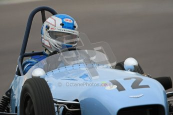 © Octane Photographic Ltd. Motors TV day – Donington Park,  Saturday 31st March 2012. Formula Junior Free practice, Stuart Roach - Alexis Mk.2. Digital ref : 0264cb7d5614