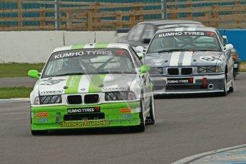 © Octane Photographic Ltd. Motors TV day – Donington Park,  Saturday 31st March 2012. Kumho BMW Championship, Neil Newstead - BMW E36. Digital ref : 0266cb1d9323