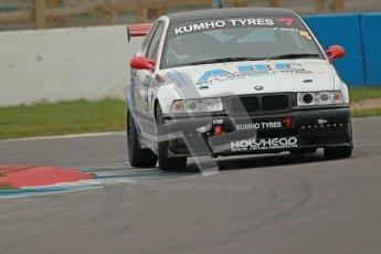 © Octane Photographic Ltd. Motors TV day – Donington Park,  Saturday 31st March 2012. Kumho BMW Championship, Karl Skitt - BMW 318 Compact. Digital ref : 0266cb1d9357