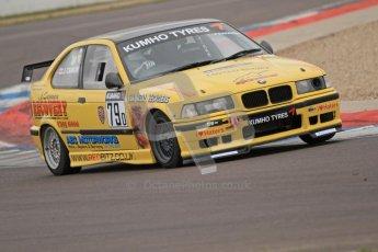 © Octane Photographic Ltd. Motors TV day – Donington Park,  Saturday 31st March 2012. Kumho BMW Championship, Greg Marking - BMW 318is. Digital ref : 0266cb7d6005