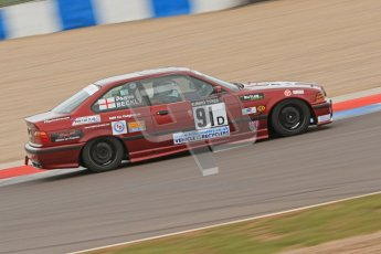 © Octane Photographic Ltd. Motors TV day – Donington Park,  Saturday 31st March 2012. Kumho BMW Championship, Darren Beckly - BMW E36 Coupe. Digital ref : 0266cb7d6070