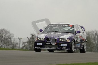 © Octane Photographic Ltd. Motors TV day – Donington Park,  Saturday 31st March 2012, Adrian Gilbert - BMW E36 M3. Kumho BMW Championship. Digital ref : 0266lw7d7580