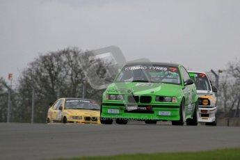 © Octane Photographic Ltd. Motors TV day – Donington Park,  Saturday 31st March 2012. Kumho BMW Championship, John Jones - BMW3 328is. Digital ref : 0266lw7d7726