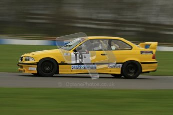 © Octane Photographic Ltd. Motors TV day – Donington Park, Saturday 31st March 2012. Kumho BMW Championship, Tom Wrigley - BMW E36 M3. Digital ref : 0266lw7d7758
