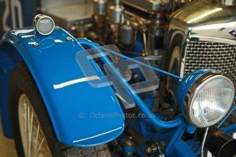 © Octane Photographic Ltd. Motors TV day – Donington Park,  Saturday 31st March 2012. VSCC Pre-War Sportscars, James Potter - Riley Brooklands. Digital ref : 0265cb1d8879