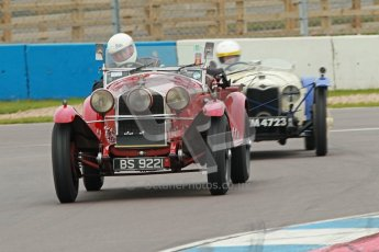 © Octane Photographic Ltd. Motors TV day – Donington Park,  Saturday 31st March 2012. VSCC Pre-War Sportscars. Digital ref : 0265cb1d9087