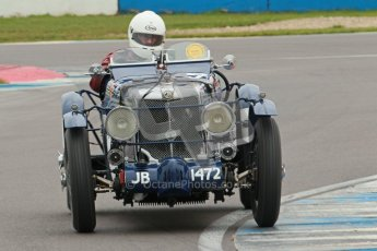 © Octane Photographic Ltd. Motors TV day – Donington Park, Saturday 31st March 2012. VSCC Pre-War Sportscars, Brandon Smith-Hilliard - MG K3. Digital ref : 0265cb1d9125