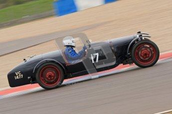 © Octane Photographic Ltd. Motors TV day – Donington Park, Saturday 31st March 2012. VSCC Pre-War Sportscars, Ian Standing - Riley Brooklands. Digital ref : 0265cb7d5733