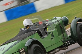 © Octane Photographic Ltd. Motors TV day – Donington Park,  Saturday 31st March 2012. VSCC Pre-War Sportscars, Nicholas Pellett - Talbot 105 Team Car. Digital ref : 0265cb7d5740