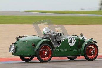 © Octane Photographic Ltd. Motors TV day – Donington Park,  Saturday 31st March 2012. VSCC Pre-War Sportscars, Barry Foster - MG Montlhery. Digital ref : 0265cb7d5803
