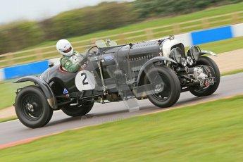 © Octane Photographic Ltd. Motors TV day – Donington Park, Saturday 31st March 2012. VSCC Pre-War Sportscars, Nigel Batchelor - Bentley 4 1/2 Blower. Digital ref : 0265cb7d5858