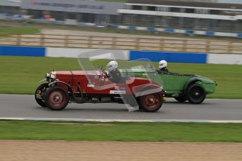 © Octane Photographic Ltd. Motors TV day – Donington Park,  Saturday 31st March 2012. VSCC Pre-War Sportscars, Duncan Arthurs - Invicta Sports Tourer. Digital ref : 0265lw7d7134