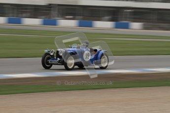 © Octane Photographic Ltd. Motors TV day – Donington Park,  Saturday 31st March 2012. VSCC Pre-War Sportscars, Andrew Bush - Riley TT Sprite Rep. Digital ref : 0265lw7d7294