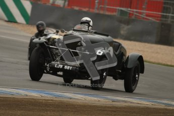 © Octane Photographic Ltd. Motors TV day – Donington Park, Saturday 31st March 2012. VSCC Pre-War Sportscars, Norman Pemberton - Talbot 95/105. Digital ref : 0265lw7d7412