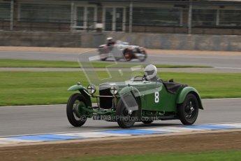 © Octane Photographic Ltd. Motors TV day – Donington Park,  Saturday 31st March 2012. VSCC Pre-War Sportscars, Joshua Beebee - Frazer Nash TT rep. Digital ref : 0265lw7d7436