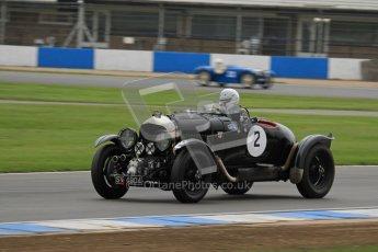 © Octane Photographic Ltd. Motors TV day – Donington Park,  Saturday 31st March 2012. VSCC Pre-War Sportscars, Nigel Batchelor - Bentley 4 1/2 Blower. Digital ref : 0265lw7d7453