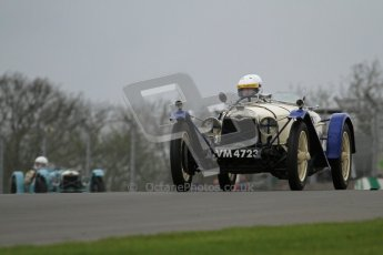 © Octane Photographic Ltd. Motors TV day – Donington Park,  Saturday 31st March 2012. VSCC Pre-War Sportscars, David Furnell - Riley Brooklands. Digital ref : 0265lw7d7493