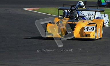 © Carl Jones/Octane Photographic Ltd. OSS Championship – Silverstone. Saturday 28th July 2012. Tim Covill, Mallock 31 Hayabsa