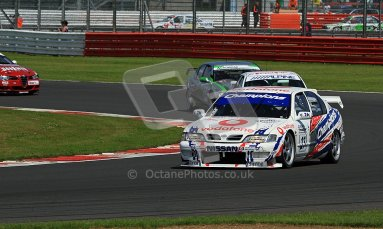 © Carl Jones / Octane Photographic Ltd. Silverstone Classic. Fujifilm Touring Car Trophy 1970-2000. 22nd July 2012. Rick Pearson, Nissan Primera. Digital Ref : 0415CJ7D1269