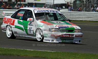 © Carl Jones / Octane Photographic Ltd. Silverstone Classic. Fujifilm Touring Car Trophy 1970-2000. 22nd July 2012. Frank Wrathall, Vauxhall Cavalier. Digital Ref : 0415CJ7D1434
