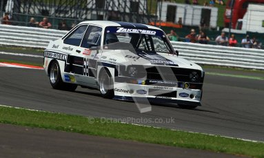 © Carl Jones / Octane Photographic Ltd. Silverstone Classic. Fujifilm Touring Car Trophy 1970-2000. 22nd July 2012. Mark Wright, Ford RS1800. Digital Ref : 0415CJ7D1462
