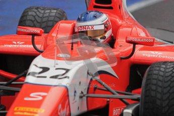 © 2012 Octane Photographic Ltd. British GP Silverstone - Friday 6th July 2012 - GP2 Qualifying - Arden International - Simon Trummer. Digital Ref : 0399lw1d3171