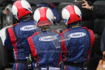 © 2012 Octane Photographic Ltd. British GP Silverstone - Saturday 7th July 2012 - GP2 Race 1. iSport International crew watching the timings come in. Digital Ref : 0400lw7d6003