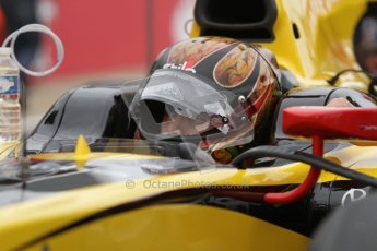 © 2012 Octane Photographic Ltd. British GP Silverstone - Sunday 8th July 2012 - GP2 Race 2 - Dams - Davide Valsecchi on the grid. Digital Ref : 0401lw7d6812