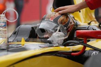 © 2012 Octane Photographic Ltd. British GP Silverstone - Sunday 8th July 2012 - GP2 Race 2 - Dams - Davide Valsecchi on the grid. Digital Ref :  0401lw7d6815