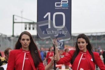 © 2012 Octane Photographic Ltd. British GP Silverstone - Sunday 8th July 2012 - GP2 Race 2 - Lotus GP - Esteban Gutierrez on the grid. Digital Ref : 0401lw7d6821