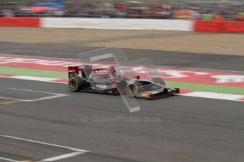 © 2012 Octane Photographic Ltd. British GP Silverstone - Sunday 8th July 2012 - GP2 Race 2 - Venezuela GP Lazarus - Fabrizio Crestani. Digital Ref : 0401lw7d7403