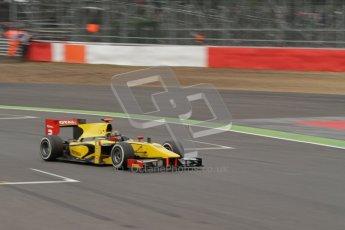 © 2012 Octane Photographic Ltd. British GP Silverstone - Sunday 8th July 2012 - GP2 Race 2 - Dams - Davide Valsecchi. Digital Ref : 0401lw7d7471